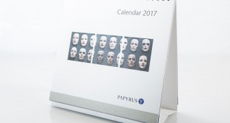 Desk calendar Papyrus 2017