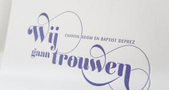 Chantal & Baptist - Wedding stationary